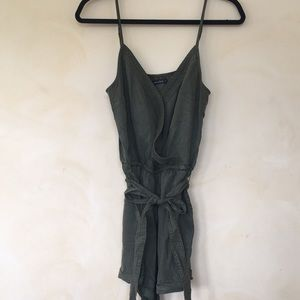 Abercrombie & Fitch Wrap Front Romper